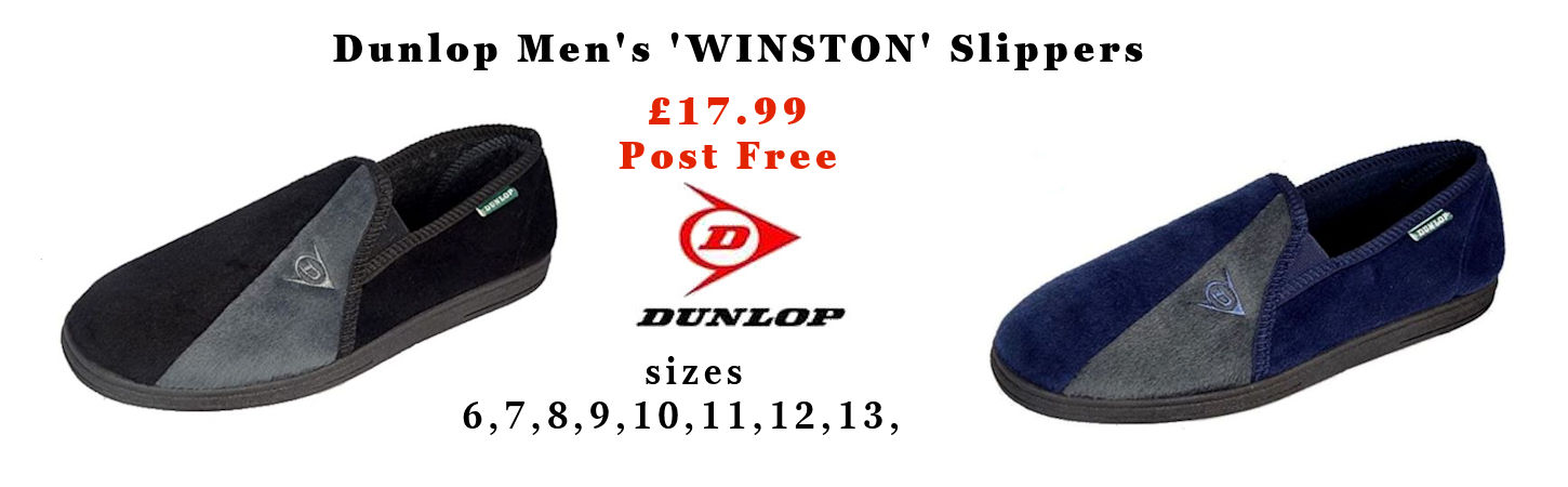 Dunlop Men''s Slippers